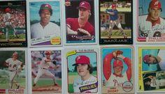 Phillies Baseball Card Lot From 1968-2007,McGraw, Virgil, Sameul, Victorino,more #PhiladelphiaPhillies