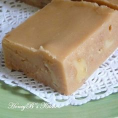 Brown Sugar Fudge- Nanny's recipe, delish! Especially with Buttered and Salted popcorn!
