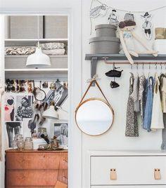 Nye og kreative idéer til garderobeskabe