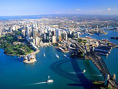 Sydney, Australia  I would love to see a kangaroo and see the Animal preserve that Steve Irwin had. Yall may have thought he was annoying but i always adored him as a kid.
