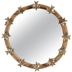 Line Vautrin, Skylark Mirror (Miroir aux Alouettes) | From a unique collection of antique and modern wall mirrors at https://www.1stdibs.com/furniture/mirrors/wall-mirrors/
