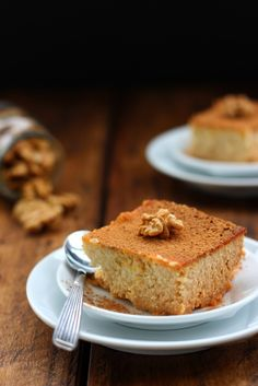 Grain-free Honey Ricotta Cake