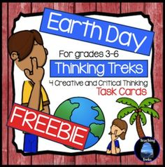 Earth Day FREEBIE! Four fun activities to get your kids thinking about Earth Day!