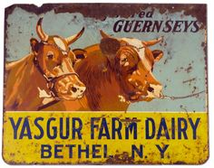 Yasgur's Farm became the site of Woodstock ...Aug. 15 - Aug. 18, 1969