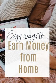 A look at some easy and interesting ways to make money from to wither boost, supplement to replace your income - working from home a has so many possibilities  #makemoney #workathome #earnfromhome #makingmoney #homeworking Saving Ideas, Saving Tips, Saving Money, Life On A Budget, Family Budget, Earn Money From Home, Way To Make Money, Award Winning Websites, Finance Books