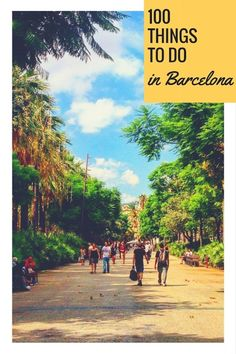 There is so much more to discover in the beautiful Catalan capital, so arm yourself with our list of the top things to do in Barcelona and see it all! Spain Travel, Us Travel, Places In Europe, Places To Visit, Sangria, Paella, Barcelona Things To Do In, Barcelona Travel Guide, 100 Things To Do