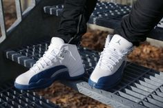 5c138684b81a26 Keep up to date with our official Air Jordan 12 French Blue 2016 edition  launch page.