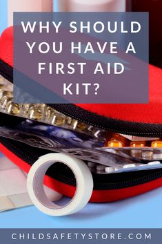 A curious child, or a baby who is just starting to crawl or walk, can certainly rack up their fair s First Aid Kit Items, First Aid Tips, Parenting Advice, Kids And Parenting, Choking First Aid, Essential First Aid Kit, Summer Safety Tips, Safety Kit, Child Safety