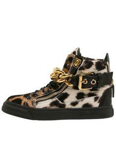 Damen Giuseppe Zanotti Sneaker high beige