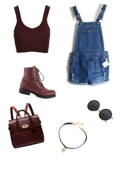 """""""A day out"""" by solia-horn on Polyvore featuring Topshop, Mulberry, Vanessa Mooney and Chinese Laundry"""