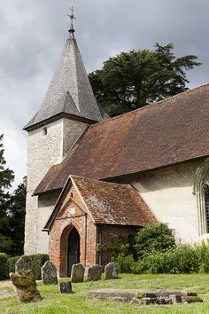 12th century All Saints' Church, Farringdon, Hampshire, England, UK - Farringdon has close associations with two of Britain's most celebrated figures, the novelist Jane Austen (1775-1817) and the naturalist Gilbert White (1720-1793).