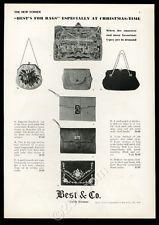 1930 Best & Co New York 7 handbag purse photo vintage fashion print ad