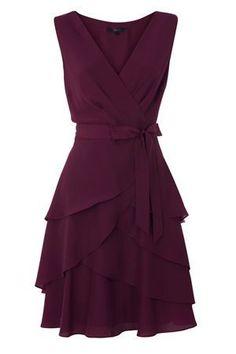 V-neck Draping Sash Chiffion Short Prom Dress 3c863324e