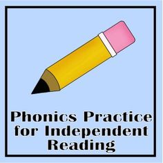 Free printable phonics practice for independent reading time