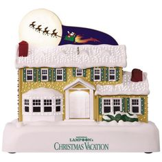 NATIONAL LAMPOON'S CHRISTMAS VACATION™ A Star-Spangled Spectacle Sound Ornament With Light