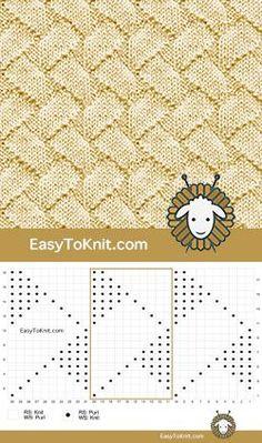 ›Knitting: Knitting Patterns - Knit Purl Zig Zag Lines – Easy to Kn. ›Knitting: Knitting Patterns – Knit Purl Zig Zag Lines – Easy to Knit Source by … Knitting Stiches, Knitting Blogs, Knitting Charts, Baby Knitting Patterns, Lace Knitting, Knitting Designs, Knitting Needles, Stitch Patterns, Crochet Patterns