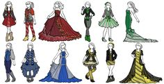 Hogwarts Houses by sirenlovesyou.deviantart.com on @deviantART Look at this @swirlgirl10