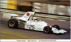 1974 GP Wielkiej Brytanii (Howden Ganley) Maki F101 - Ford