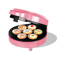 ZZ CM170-P Electric Fun Cupcake Maker => Amazing product just a click away at : baking gadgets