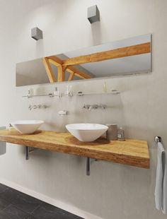 Basic badkameraccessoires van Geesa met een ranke vormtaal. De planchetten, zeephouder, tandborstelhouder, zeepdispenser en handdoekhouder zijn onderdeel van de Thessa collectie.