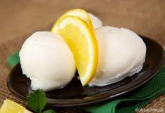 Zmrzlina z citrónovej šťavy Eggs, Ice Cream, Breakfast, Desserts, Cannoli, Food, Smoothie, Home, No Churn Ice Cream