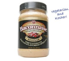 BACONNAISE - REGULAR I want some of this :)  http://www.perpetualkid.com/bacon-bandages.aspx#