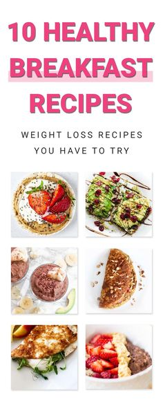 Healthy Breakfast Recipes For Weight Loss, Healthy Recipes, Healthy Food, Weight Loss Tips, Lose Weight, Fit Board Workouts, Fat Burning Foods, Meal Planning, Meals