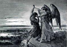jacob wrestles with angel