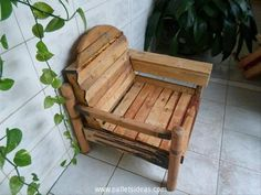 Lounge Pallet Armchair