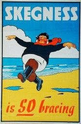 Skegness and good old British summer holidays British Beaches, British Seaside, British Summer, Posters Uk, Beach Posters, Railway Posters, Vintage Advertising Posters, Vintage Travel Posters, Vintage Advertisements