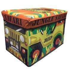 Jungle safari Jeep storage chest for kids toys – PASX UK