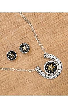 Horseshoe Jewelry Set