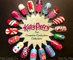 Katy Perry nails - the Complete Confection