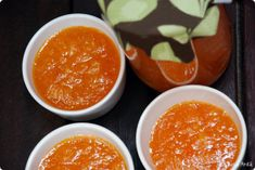 Receta de mermelada de naranja y zanahoria con Thermomix | Velocidad Cuchara Sweet Potato Carrot Soup, Great Recipes, Favorite Recipes, Homemade Jelly, Catering, Carrots, Side Dishes, Clean Eating, Pudding