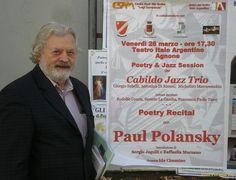 Paul Polansky (s. 1942) on Iowan Mason Citystä kotoisin oleva amerikkalainen kirjailija ja runoilija. Hän on asunut Euroopassa 60-luvulta lähtien paettuaan Vietnamin sotapalvelusta. Polansky asui ensin Espanjassa, jossa toimi ammattilaisnyrkkeilijänä, teki töitä toimittajana ja julkaisi useita romaaneja. Nykyisin Polansky asuu Serbiassa mustalaiskylässä Nišin lähistöllä. Hän on on julkaissut 30 kirjaa, joista 18 on runoteoksia. Viime vuonna häneltä ilmestyi suomeksi runokokoelma…