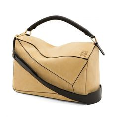 Loewe New In - PUZZLE LARGE BAG Gold