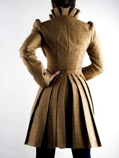 lena  jacket, fabric shown in pictures no longer available. $249.90, via Etsy.