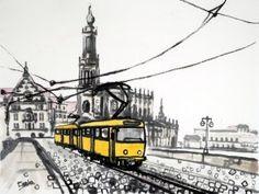 Caska T4D Dresden FB - obraz na plátně