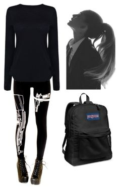 """""""Girl Meets Truth #1"""" by bella-014 ❤ liked on Polyvore featuring JanSport and Helmut Lang"""