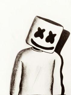 Dj Marshmello Dibujo Animado