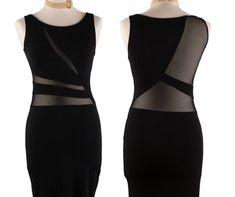 Elegant Black Tango Dress | Milonga Dress | Argentine Tango Dress Tango Dress, Argentine Tango, Total Black, Lilac Color, Feminine Dress, Straight Skirt, Stretch Lace, Dance Outfits, Scoop Neck