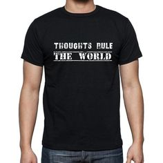 #black #tshirt #men #quotes #inspirational  New tshirt, new relaxing mood! Let's buy now --> https://www.teeshirtee.com/collections/inspirational-quotes/products/insiprational-quote-t-shirt-thoughts-rule-the-world-gift-for-him-t-shirt-for-men-t-shirt-black