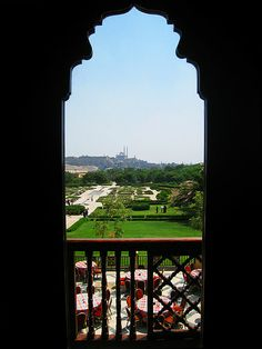 Al-Azhar Park is a very nice place to wander around in. El  Cairo  Egypt
