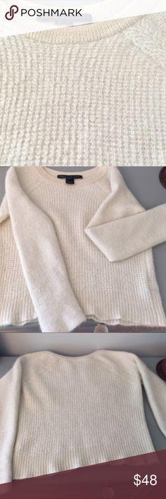 Marc Jacobs 100% Alpaca sweater XS/XXS Teeny 100% alpaca sweater!  Super cute and soft! Marc Jacobs Sweaters Crew & Scoop Necks