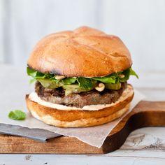 Thai Turkey Burgers // Terrific Thai Recipes: http://www.foodandwine.com/slideshows/thai #foodandwine