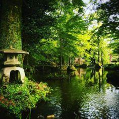 岐阜城下の庭園 #日本庭園