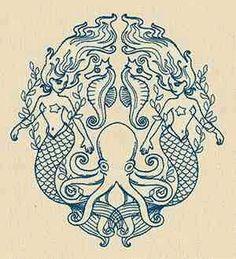 Gemini thigh tattoo idea