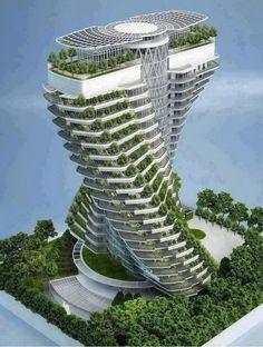 Amazing building design.