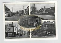 OLD NORMANBY MIDDLESBROUGH TEESSIDE NORTH YORKSHIRE MULTIVIEW POSTCARD (3)