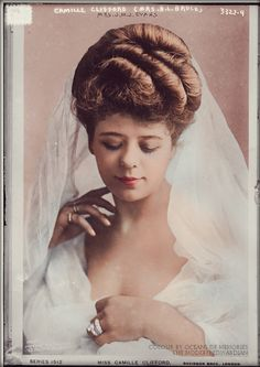 Camille Clifford - Wedding Day